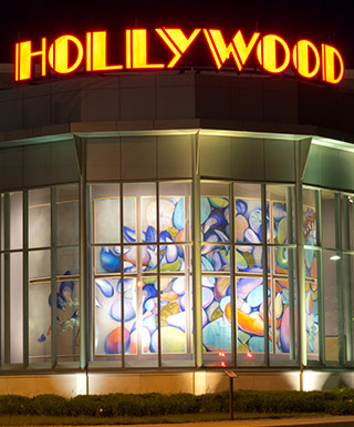 Hollywood Casino Bangor at Night